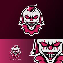 Clown Joker Scary Mask Mascot ...