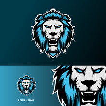 Angry Lion Jaguar Mascot Sport Gaming Esport Logo Template