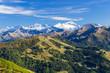 Blick vom Gipfel in die Hohe Tauern