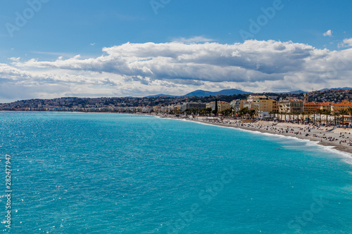 Panoramic View of Antibes Fototapet