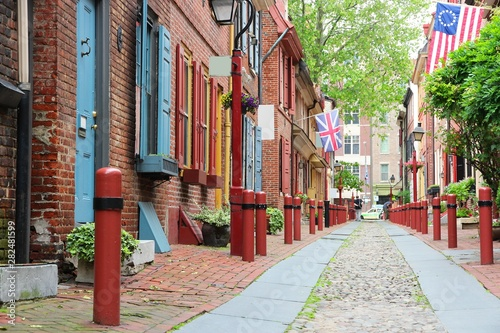 Elfreth's Alley, Philadelphia Canvas-taulu
