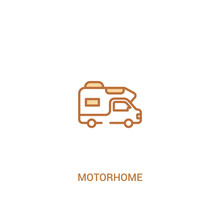 Motorhome Concept 2 Colored Ic...