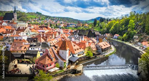 Fototapeta  The amazing city of Cesky Krumlov in the Czech Republic