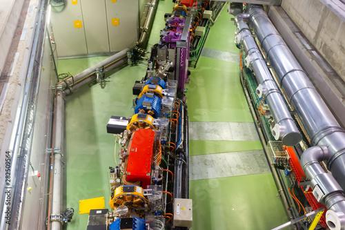 Photo LINear accelerator tunnel of ALBA synchrotron