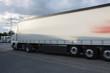 Lastwagen in Bewegung