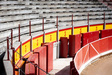 Interior Of Pamplona Bullring,...