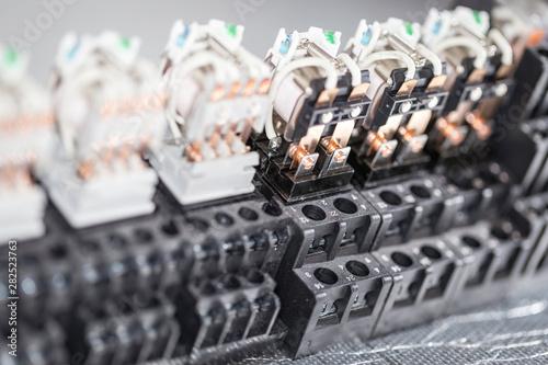 Electromagnetic relays Fototapet