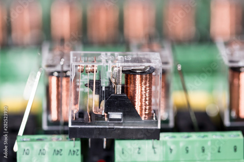 Photo Electromagnetic relays