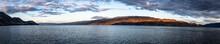 Panoramic View At Sunset Of Ok...