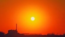 Heatwave Hot Sun. Global Warmi...