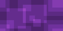 Abstract Purple Square Background Design With Elegant Transparent Intersecting Line