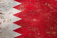 National Flag Of Bahrain  On O...