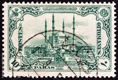 Fotografia  Selimiye Mosque, Edirne (Turkey 1913)