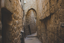 Old City Jerusalem Back Street...