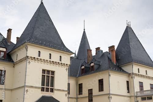 Vászonkép  Andrassy Castle In Tiszadob