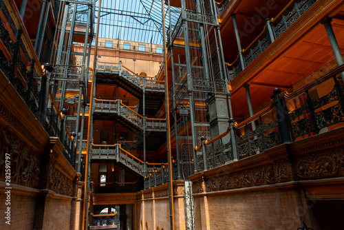 Fotografie, Tablou Bradbury Building - Los Angeles