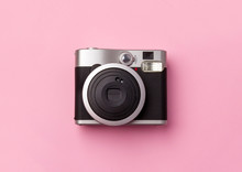 Vintage Instant Camera At Past...