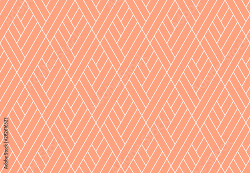Fototapeta Abstract geometric pattern with stripes, lines