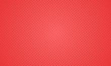Comic Pop Art Red Background. ...