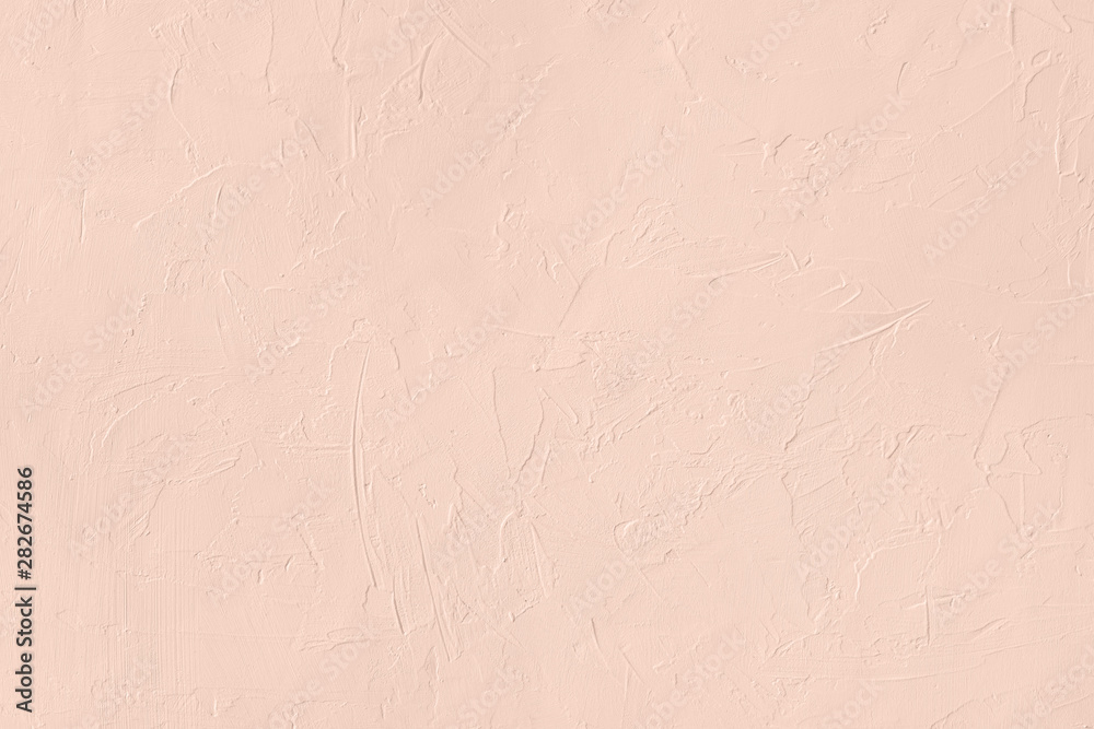 Fototapety, obrazy: Pale pink colored low contrast Concrete textured background with roughness and irregularities
