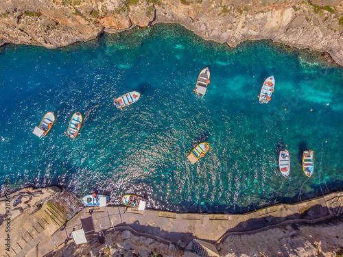 Carta da parati Blue Grotto in Malta