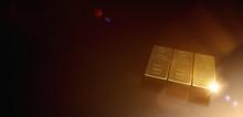 3 Fine Gold Bars 1000g