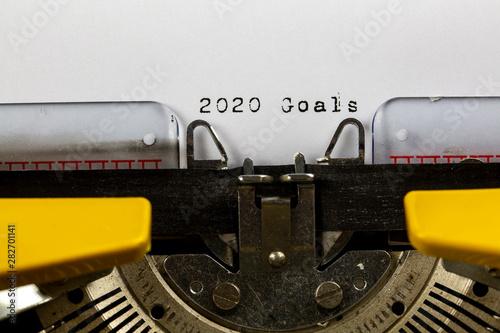 Photo  2020 Goal ,  2020 Concept