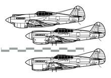 Curtiss P-40 Warhawk. Outline ...