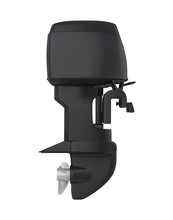 Outboard Motor Isolated