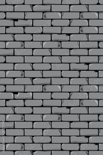 Okleiny na drzwi cegła  old-grey-wall-background