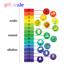 PH Scale Diagram With Correspo...