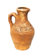 Vintage Amphora With A Pattern...