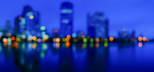 Light Bokeh City Landscape At ...