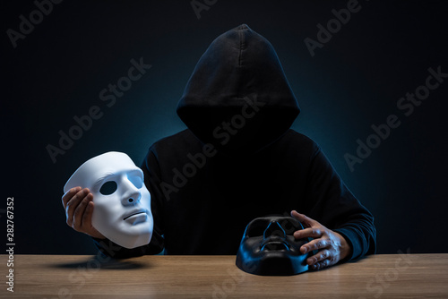 Fotografía 仮面の男性