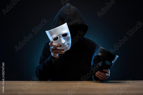 Fotomural  仮面の男性