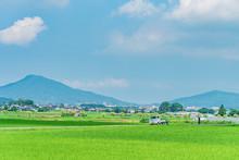 日本の田舎風景