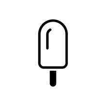 Ice Cream Icons. Summer Desser...