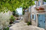 Croation alley in Rovinj
