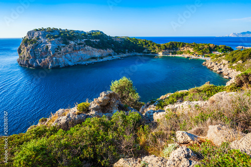 Anthony Quinn Bay, Rhodes island Canvas Print