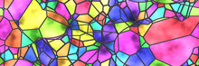 Stained Glass- Abstract Mosaic...