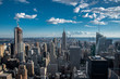 Looking South from the top of Manhattans midtown (NYC, USA)