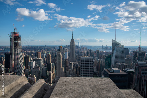 Photo Looking South from the top of Manhattans midtown (NYC, USA)