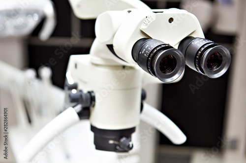 Fototapety, obrazy: Dental surgery microscope