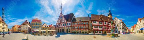 Rathaus von Forchheim in Franken, Bayern Canvas Print