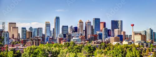 Calgary Alberta Panoramic Skyline Summer 2019