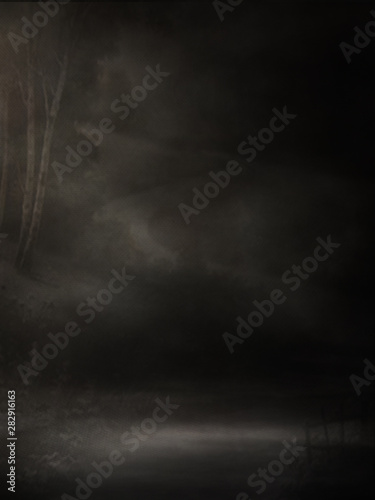 Recess Fitting Light, shadow Background Studio Portrait Backdrops