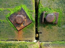 Close Up Of Sea Wall On Coasta...