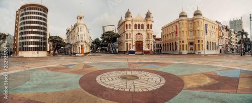 Imagens de Recife e Olinda - Pernambuco - Recife Antigo, Marco Zero, Ruas, Ponte Canvas-taulu