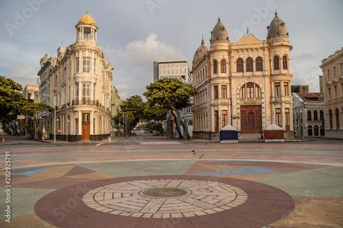 Fotografie, Obraz  Imagens de Recife e Olinda - Pernambuco - Recife Antigo, Marco Zero, Ruas, Ponte