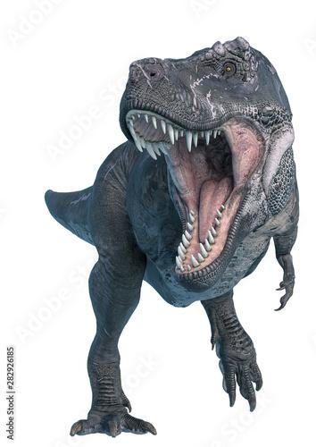 Fototapeta tyrannosaurus rex hunting down
